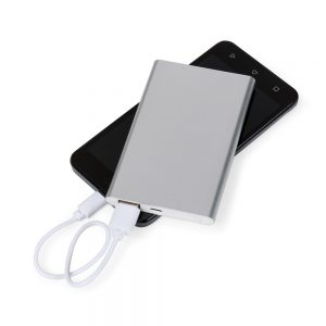 Comprar Power bank Metal de brinde